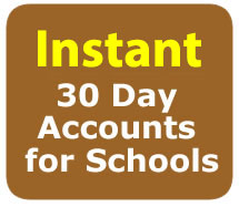 Free 30 Day Accounts for Schools