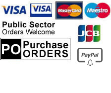 We accept these payment methods: